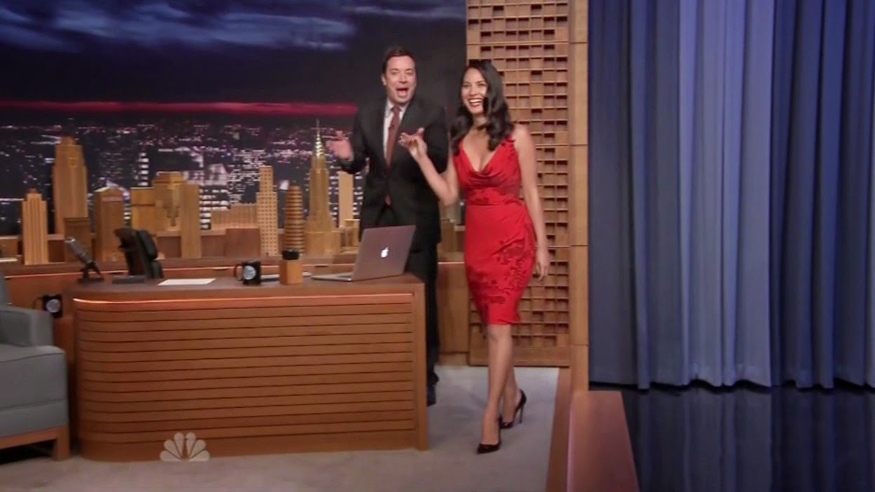 Olivia Munn - HOT - The Tonight Show photo 1