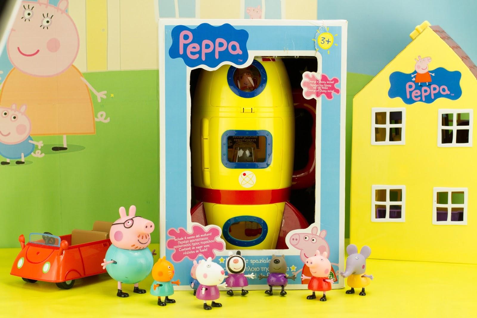 Super h ros et compagnie peppa pig la fus e spatiale - Fusee peppa pig ...