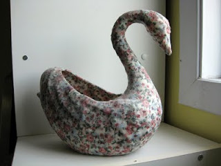 Home-made swan thing