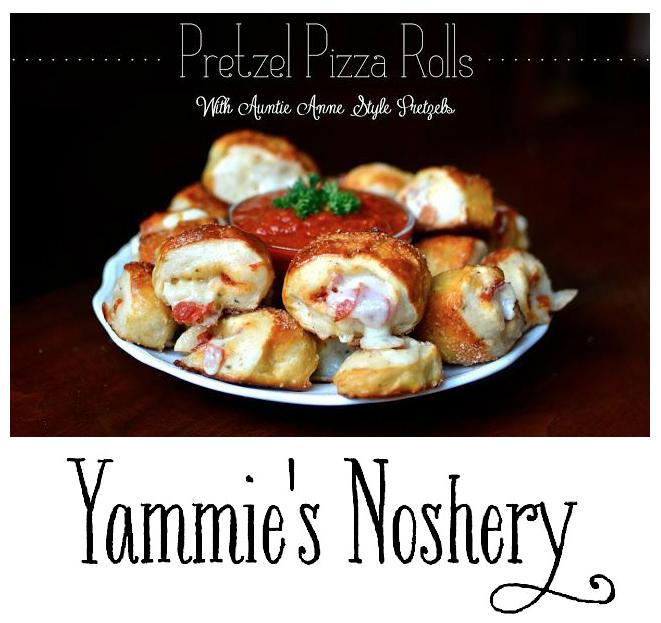 Yammie's Noshery Pretzel Pizza Rolls