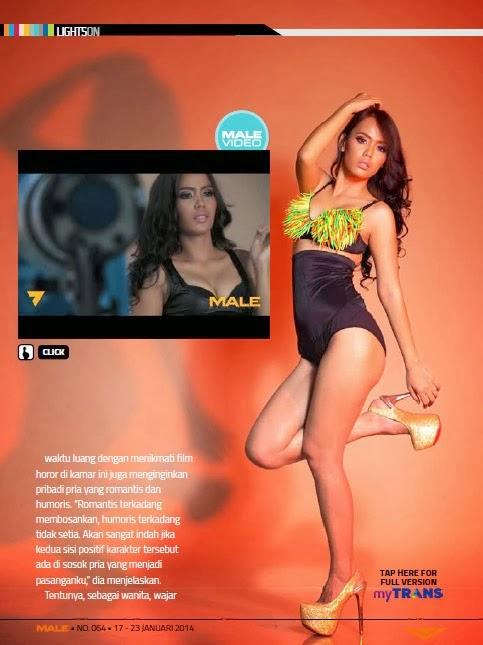 Magazine Photoshoot : Rara Alvera Photoshoot for Male Magazine US January 2014 Issue