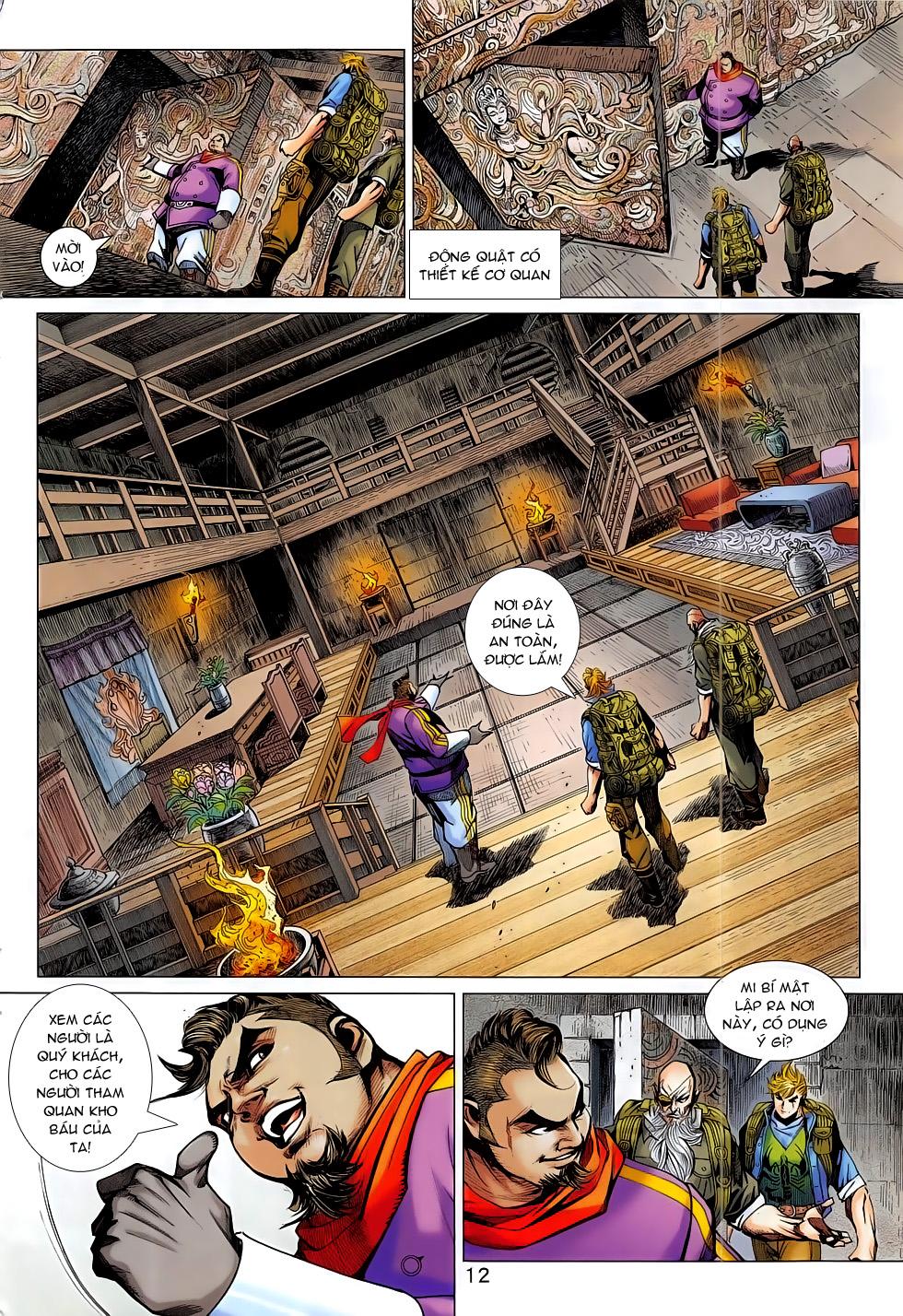 Tân Tác Long Hổ Môn chap 795 Trang 12 - Mangak.info