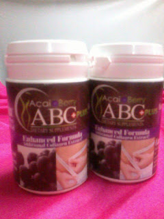 promosi hebat ACAI BERRY + PLUS (ABC).