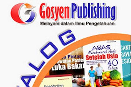 Daftar Buku Lengkap Penerbit Gosyen Publishing Yogyakarta Bagian 4