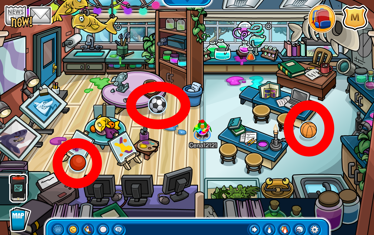 Club Penguin School & Skate Party 2014 Cheats