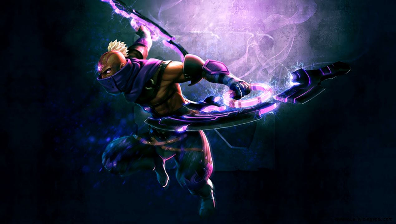Dota 2 Anti Mage Acolyte Of Vengeance Set Wallpaper Wallpapers Quality