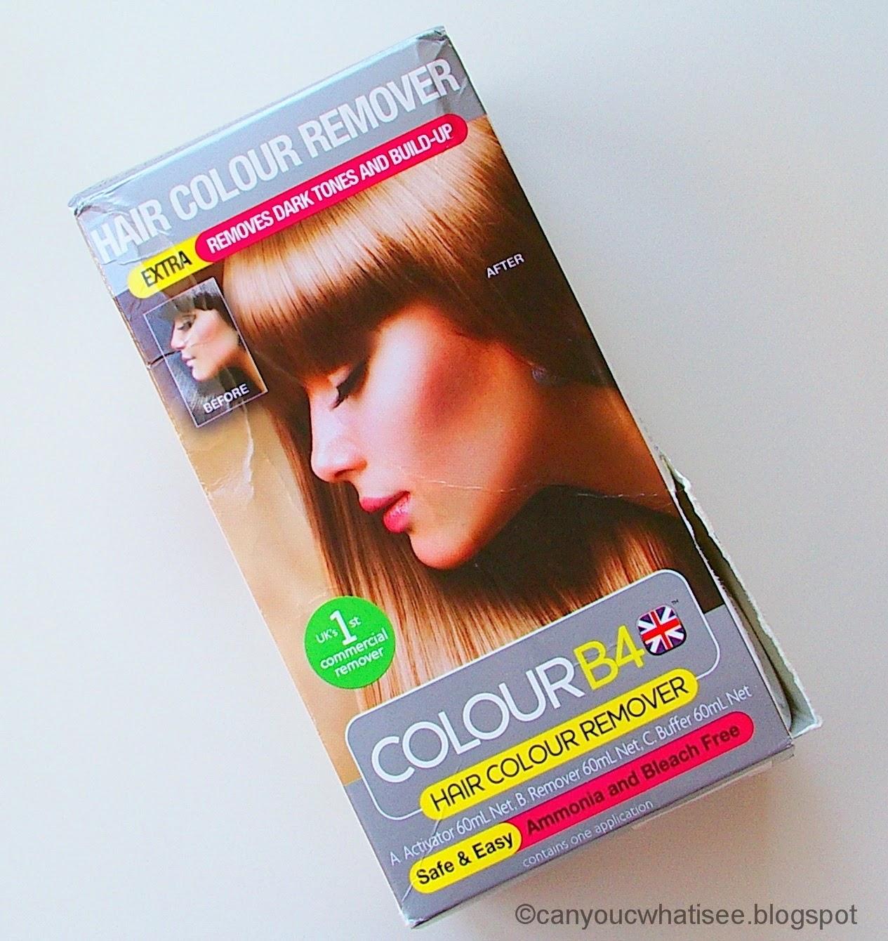 Blogmas Colour B4 Hair Colour Remover Extra Formula Just Buy