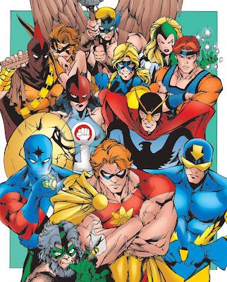 Dibujo de Escuadron Supremo-Marvel