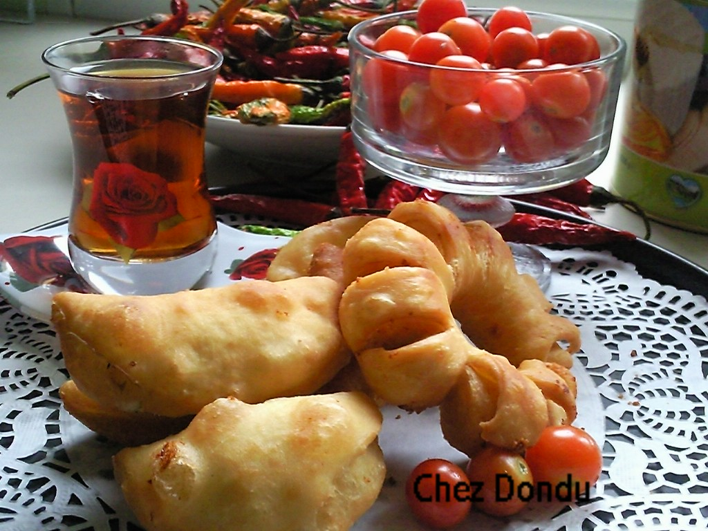 Pate frite aux fetas fromage en saumure special b rek for Fromage en special