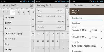 SKK Mobile Charm Calendar