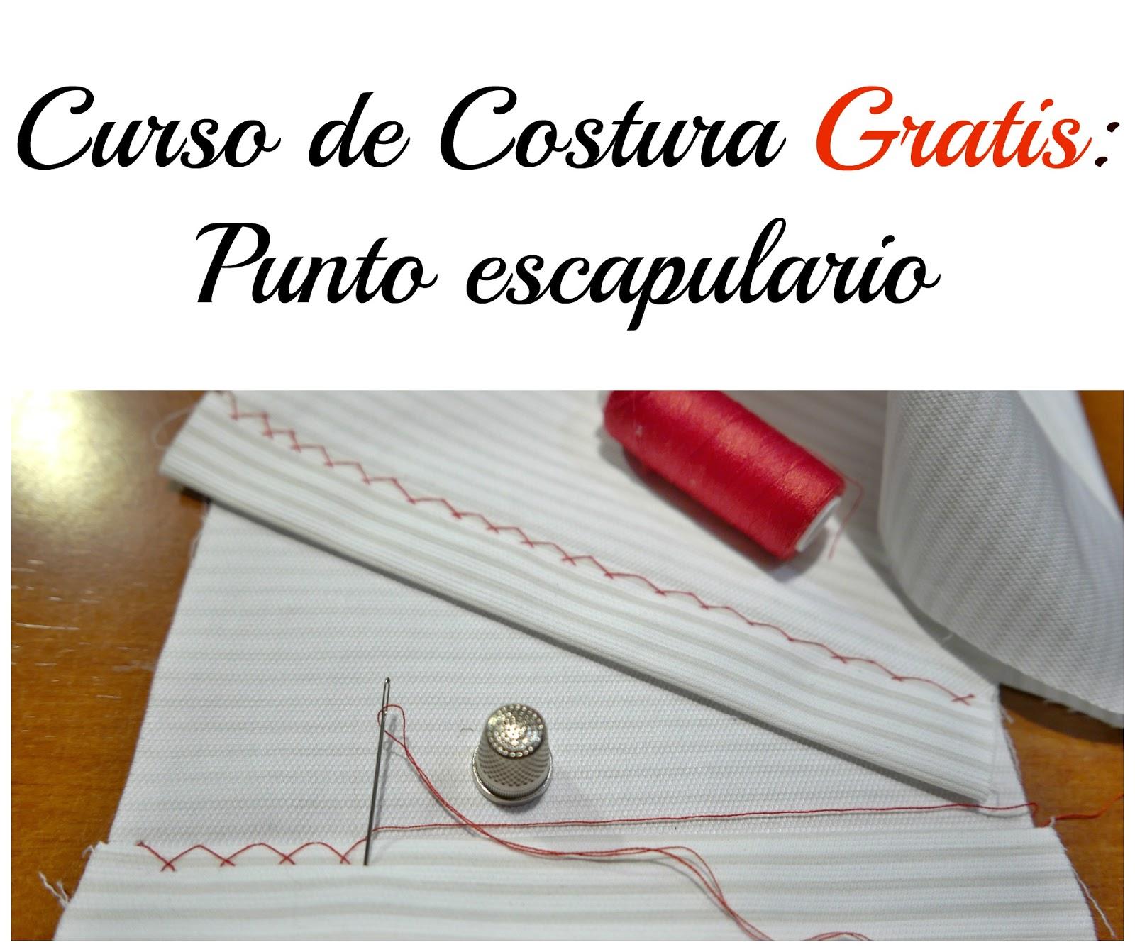 Curso de costura gratis punto escapulario colours for baby for Curso de interiorismo gratis
