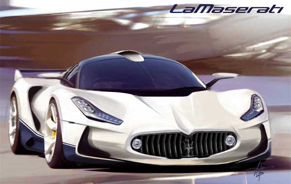 Maserati LaMaserati Rival Of Ferrari LaFerrari