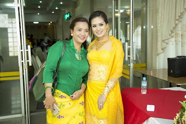 Myanmar Actress Su Pan Htwar and Okkar Kyaw Kind Deeds of Marriage