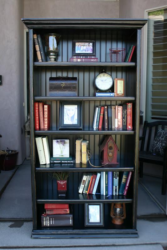 Doubletake Decor A Few Black Bookshelves