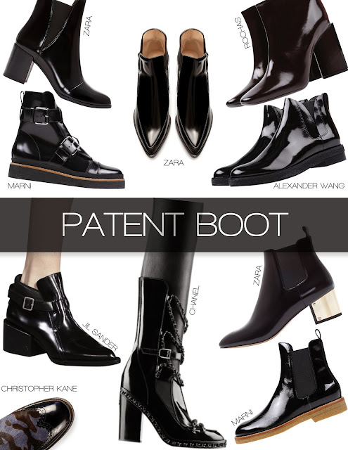 Patent Boot Trend A/W 2013/14