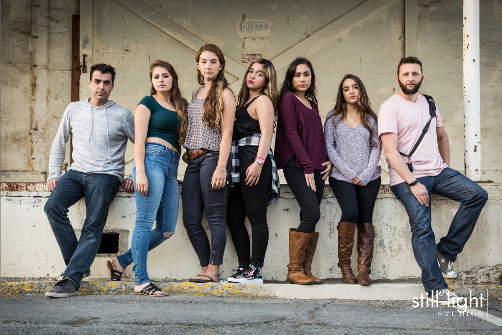 Group Senior Portraits by Still Light Studios, Senior portrait in nature, cinematic