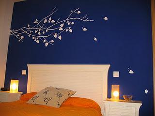 Decoraciones y modernidades moderno color azul para - Habitaciones de color azul ...