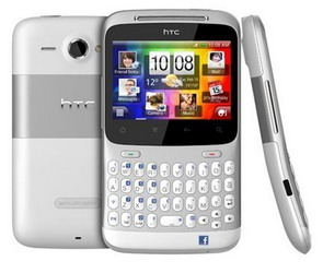 HTC ChaCha and Salsa Android phones with a dedicated Facebook button