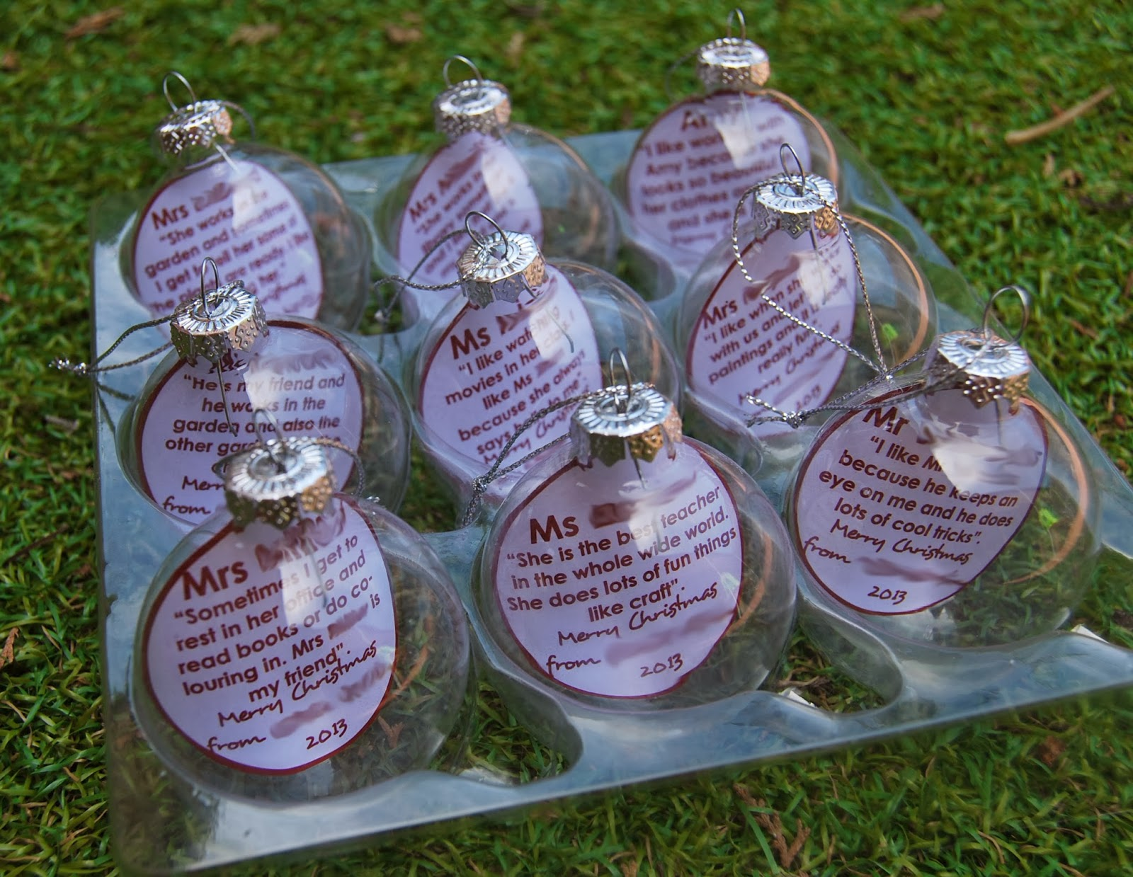 Preschool Teacher Quotes A Little Learning For Two Teacher Gifts  Quote Baubles