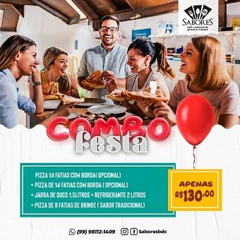 SABORES CAFÉ, RESTAURANTE, PIZZAS E MASSAS