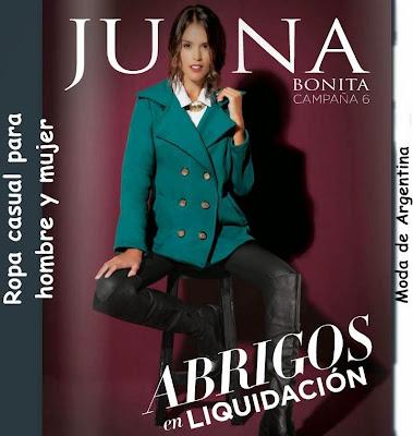 Catalogo Juana Bonita Junio 2015