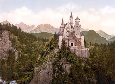 The REAL Sleeping Beauty Castle