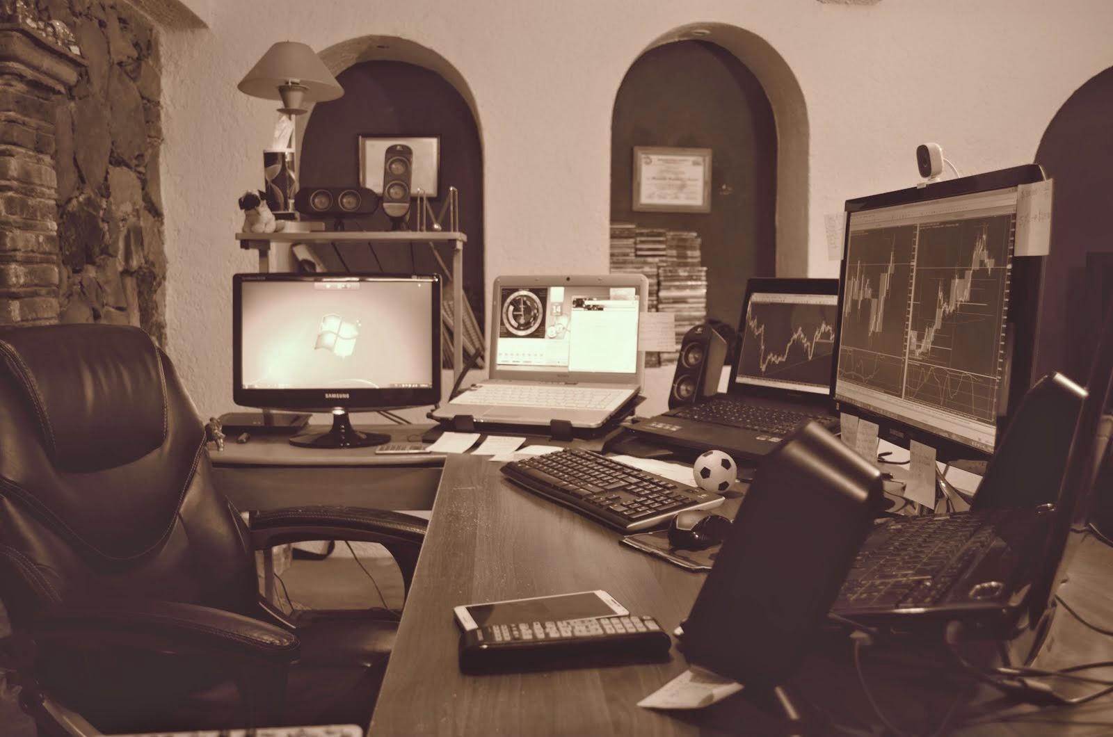 Una de nuestras estaciones de trabajo