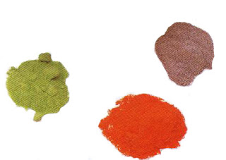 Powdered or ground enamels