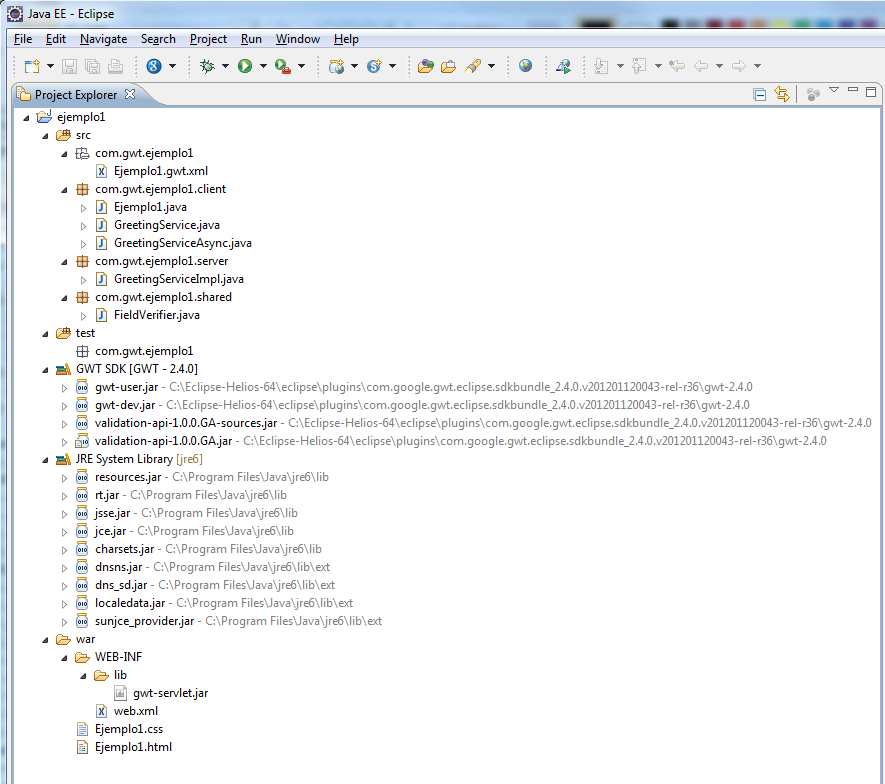 Eclipse Google App Engine Tutorial: Desarrollando Con GWT: Instalando Eclipse Y GWT