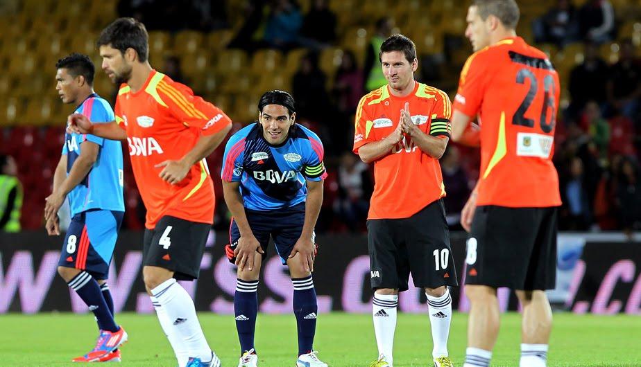 Partido de Messi y sus amigos en Medellín ¡Confirmado!