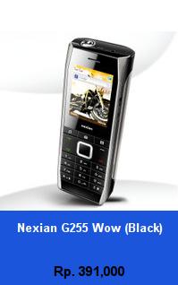 Daftar HP Murah Nexian G255 Wow (Black) - wedhanguwuh.com
