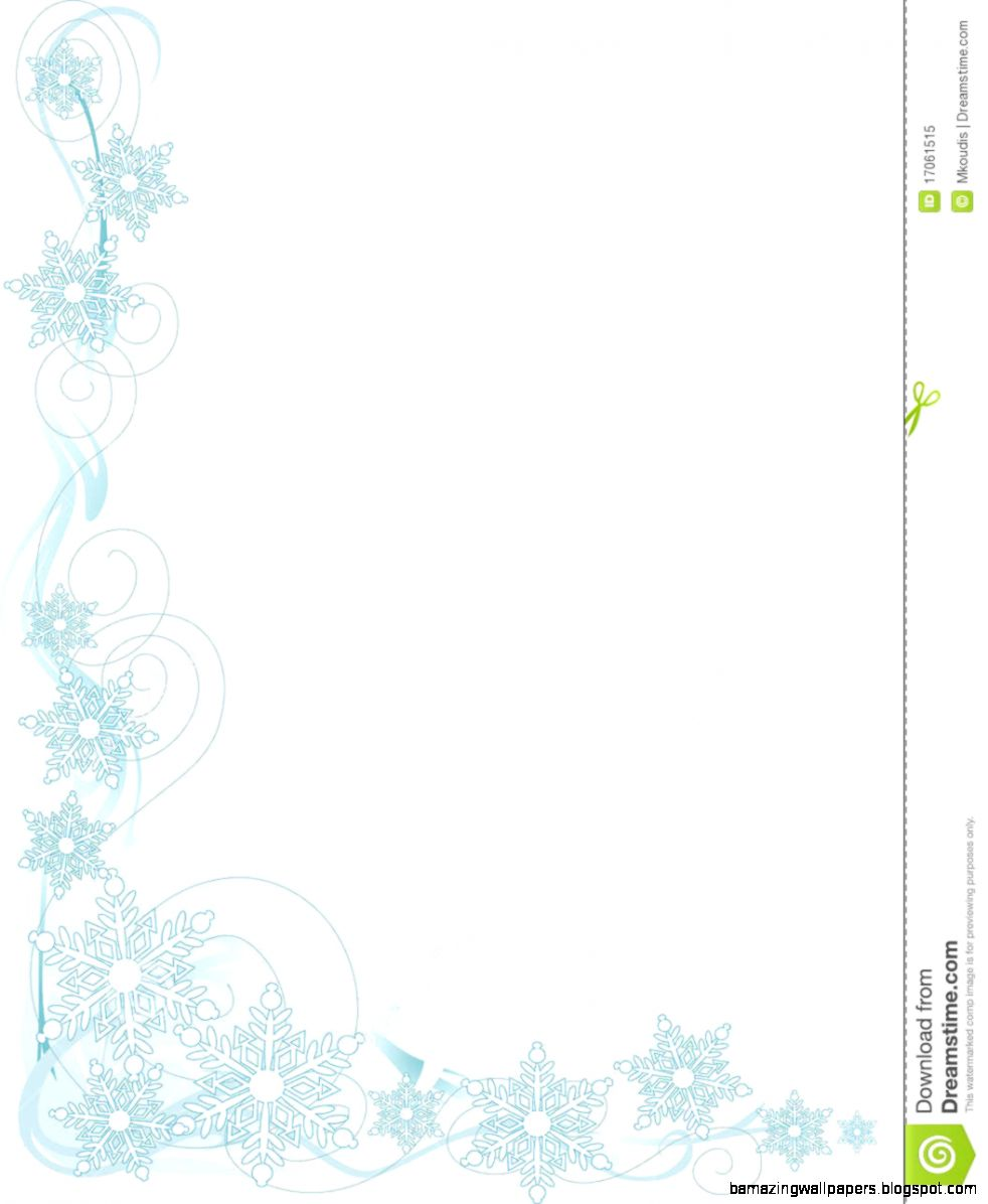 Snowflake Corner Royalty Free Stock Photo   Image 17061515