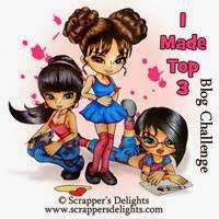 I made top 3 - Scrappers Delights
