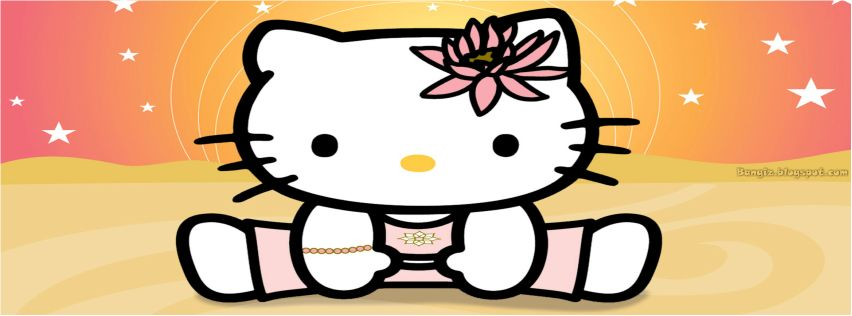 Foto Sampul Facebook Hello Kitty