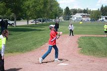 Playing Baseball Barefoot