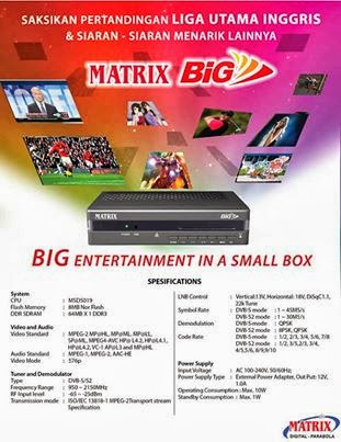 Matrix BIG TV mpeg-4