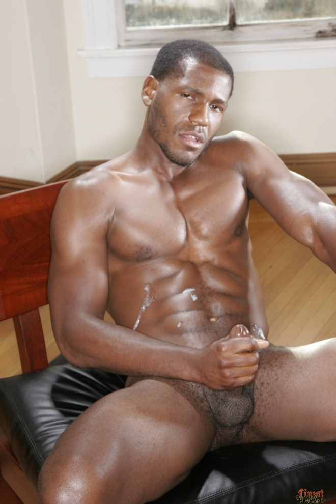Black Leather Muscle Daddy
