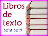MATERIALES Y LIBROS DE TEXTO 2016-2017
