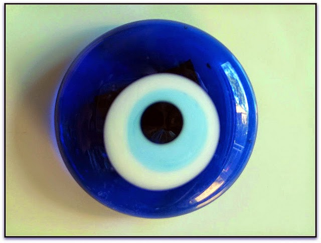 Snooping Around: Good Luck Files - The Evil Eye Stone
