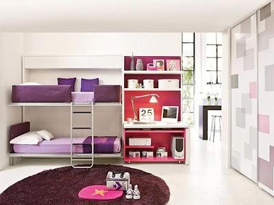 dormitorio dos hermanas moderno
