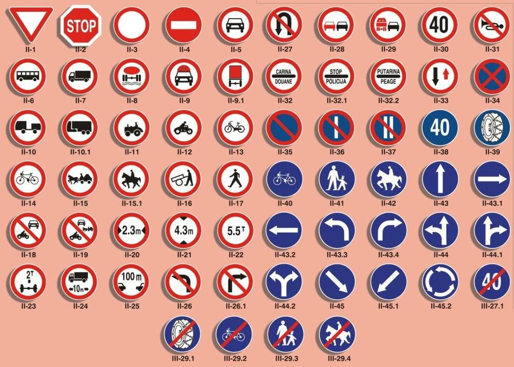 Saobracajni Znakovi Image Mag : Saobracajniznakoviizricitihnaredbi from imagemag.ru size 1000 x 714 jpeg 208kB