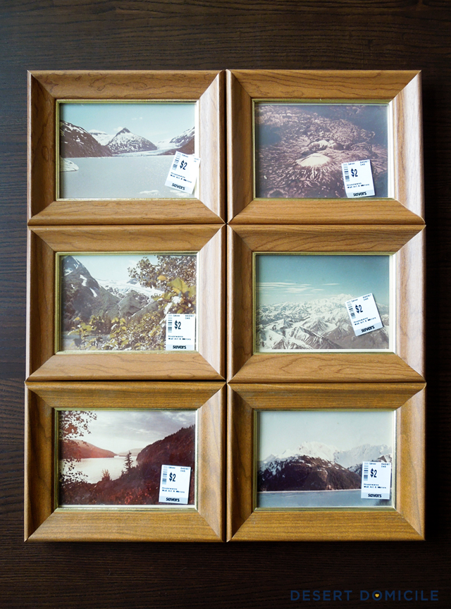 Framed Vintage Alaska Photos | Desert Domicile
