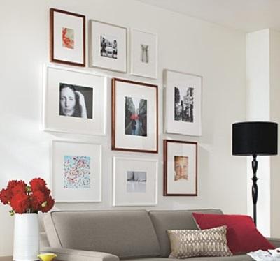 hiasan dinding ruang tamu modern - koleksi rumah