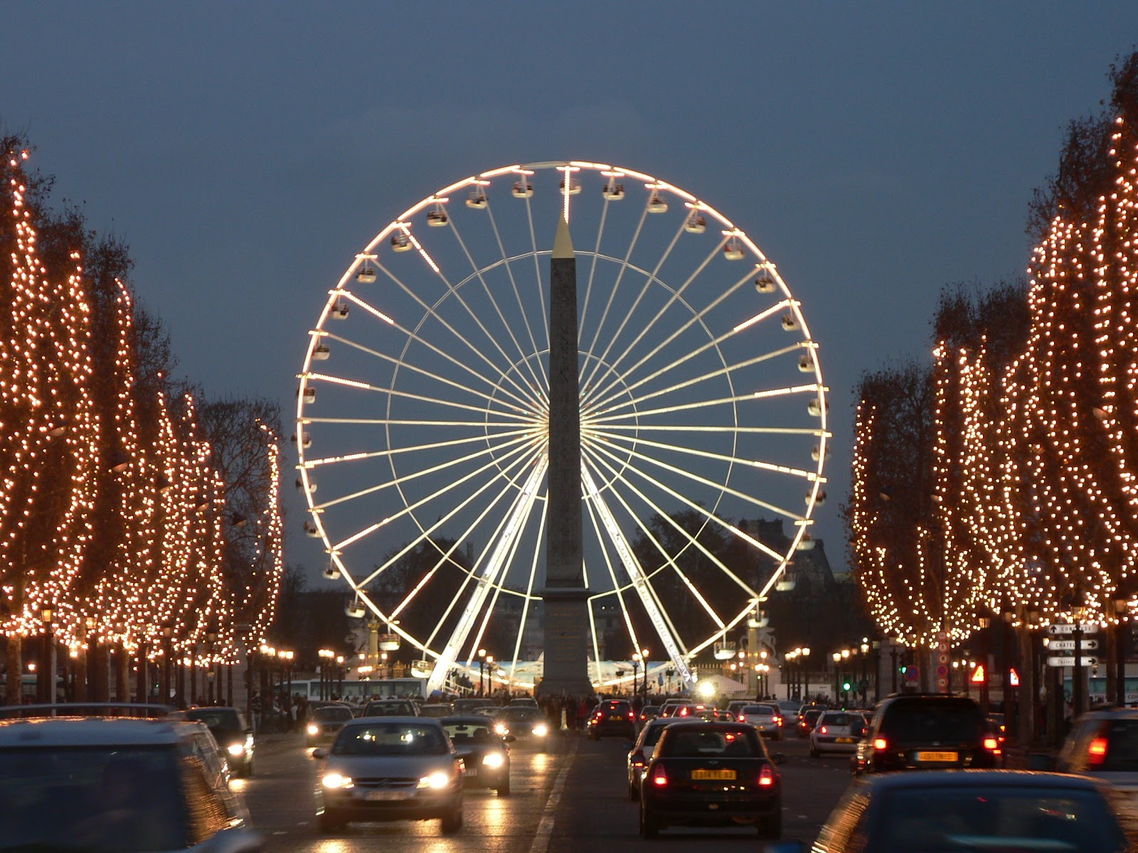 Tourism: Champs Elysees 10 Most Beautiful Places In The World Wallpaper