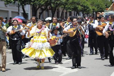 Carnaval de antaño en Sucre 2013