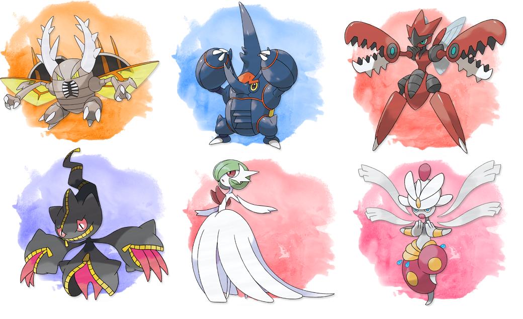 Portal pokemon vortex novidades de pok mon - Pokemon xy mega evolution ...
