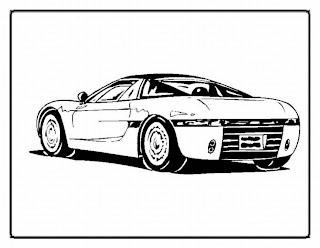a desenhar i carros  colorir