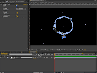The Collar Comp with image placement in Adobe After Effects.