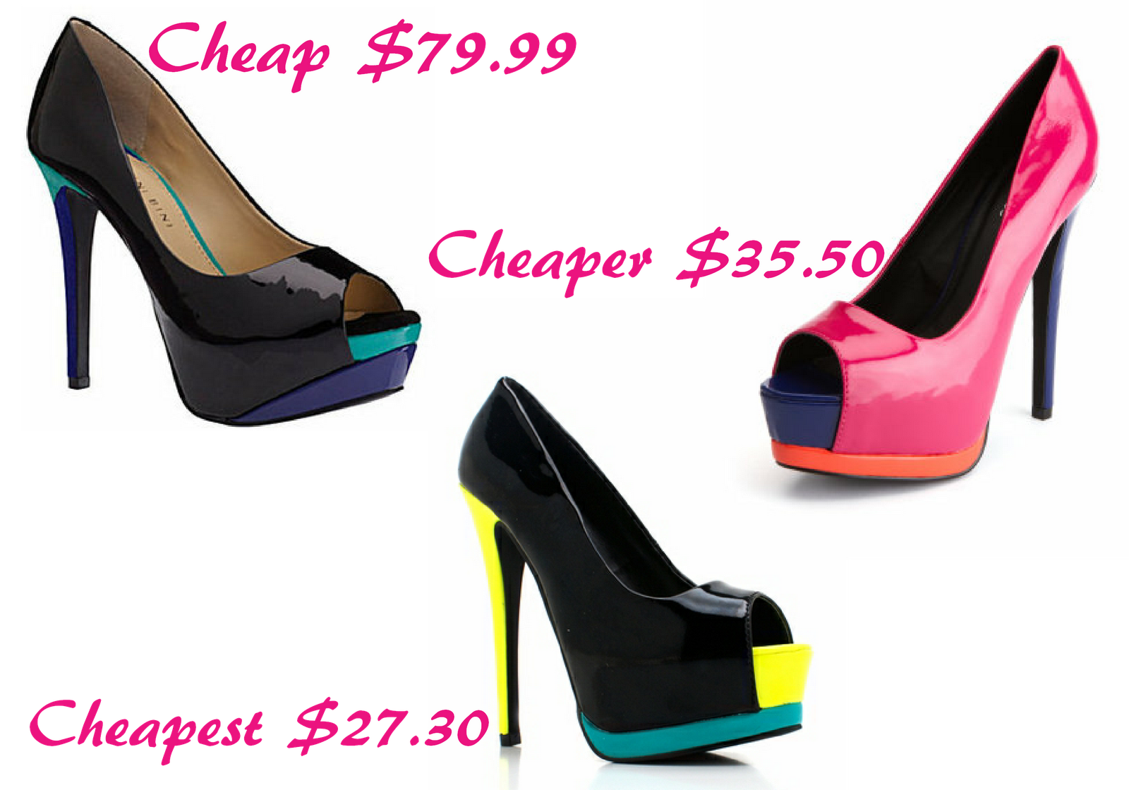 Colorful Heels For Cheap