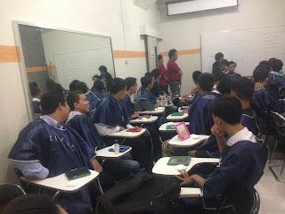 make over siswa PSPP Yogyakarta di kegiatan pra kuliah pspp jogja